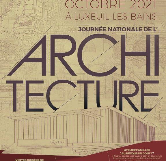 Journée de l'Architecture : Visite guidée «au grès des Vosges»